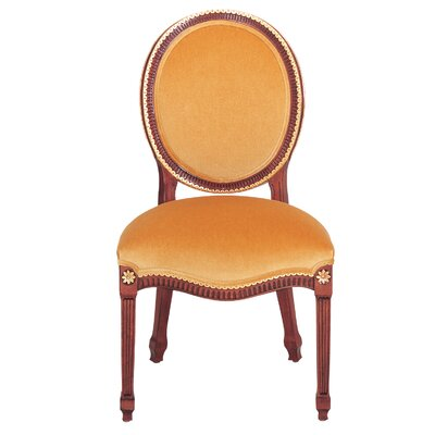 Dining Room Side Chair Calais Side Chair Nailhead Finish Hammered Brass