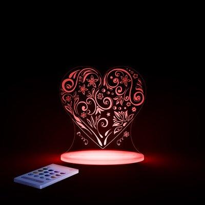 Aloka Love Heart Night Light