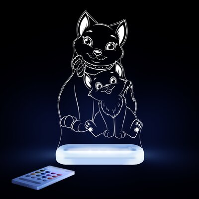 Aloka Starlights LED Cat Night Light with Remote Control