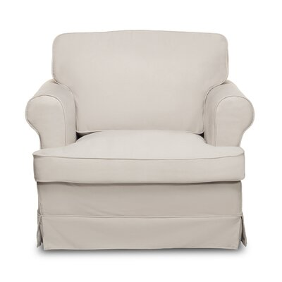 Spencer Arm Chair Upholstery: Light Grey