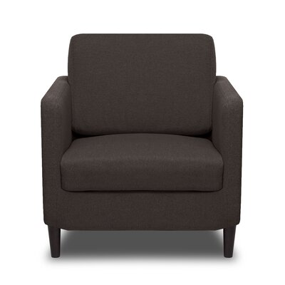 Axis Arm Chair Color: Ash Grey