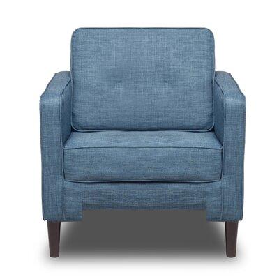 Franklin Arm Chair Color: Aqua