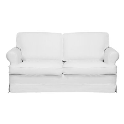 Spencer Sofa Color: White