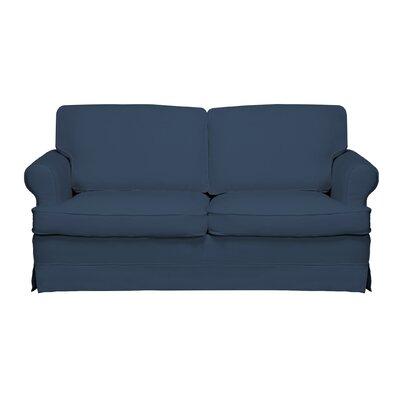 Spencer Sofa Color: Harbor Blue