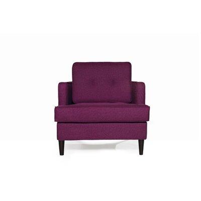 Durham Armchair Upholstery: Plum