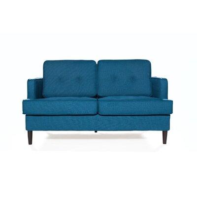 Durham Loveseat Upholstery: Peacock
