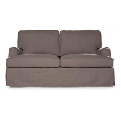 Delaney Loveseat Upholstery: Fog