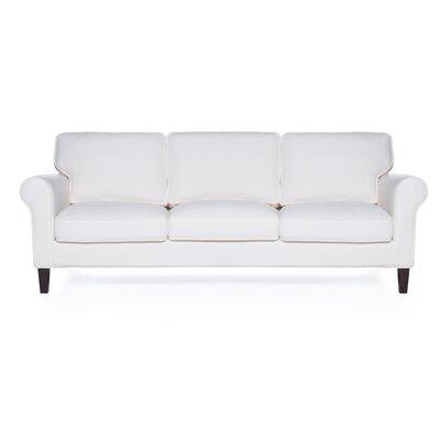 Walton Sofa Upholstery: White