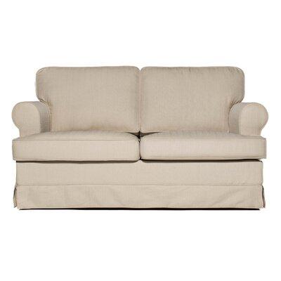 Everett Loveseat Upholstery: Ricepaper