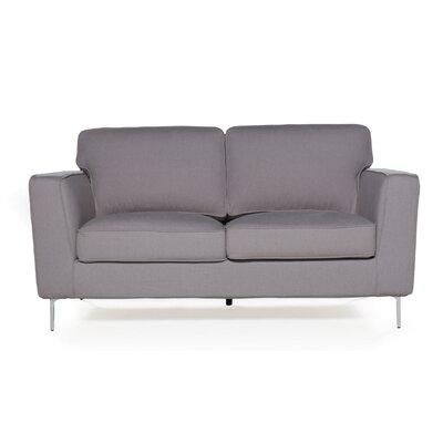Blake Loveseat Upholstery: Mink