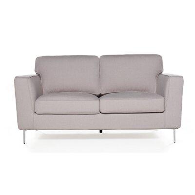 Blake Loveseat Upholstery: Cotton Flax