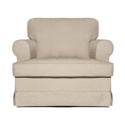 Everett Club Chair Upholstery: Ricepaper