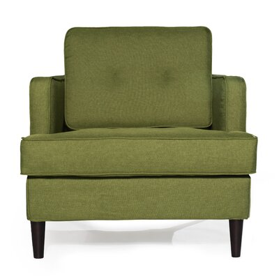 Durham Arm Chair Upholstery: Lime