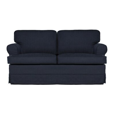Everett Loveseat Upholstery: Midnight