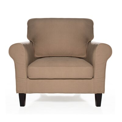 Walton Arm Chair Upholstery: Khaki