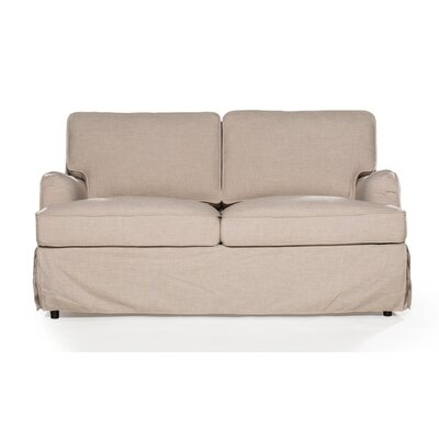 Delaney Loveseat Upholstery: Sand