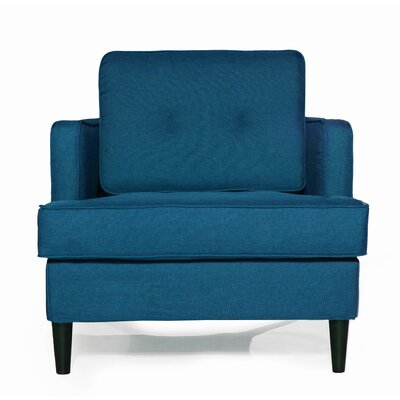 Durham Arm Chair Upholstery: Peacock