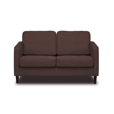 Hamilton Loveseat Color: Coffee