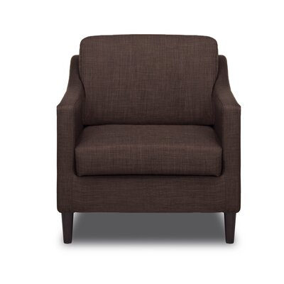 Decker Arm Chair Color: Coffee