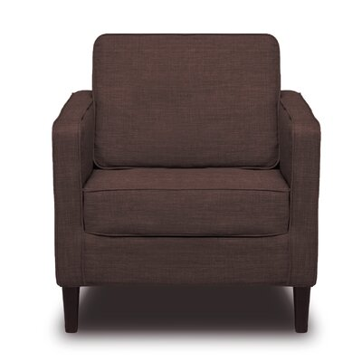 Hamilton Arm Chair Color: Coffee