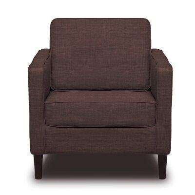 Hamilton Arm Chair Color: Coffee