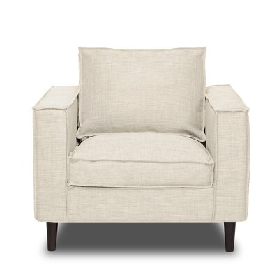 Parlour Arm Chair Upholstery: Glacier