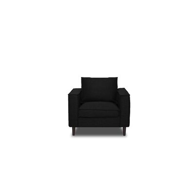 Harlowton Armchair Upholstery: Black