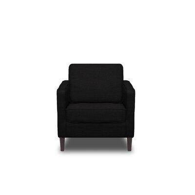 Hamilton Armchair Upholstery: Black