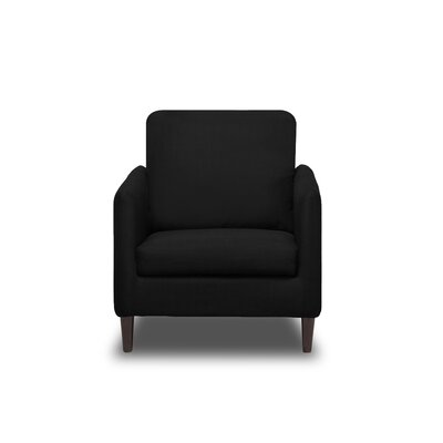 Crosby Armchair Upholstery: Black
