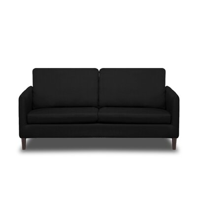 Crosby Sofa Upholstery: Black