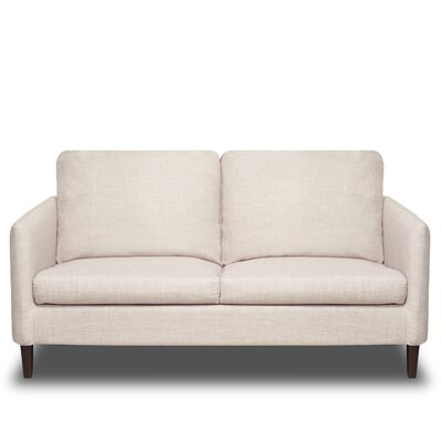 Crosby Loveseat Color: Glacier