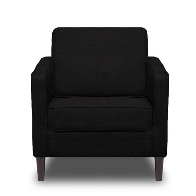 Hamilton Arm Chair Color: Black