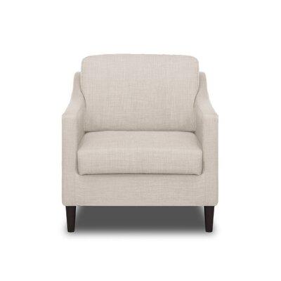 Decker Arm Chair Color: Glacier