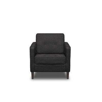 Franklin Armchair Upholstery: Charcoal