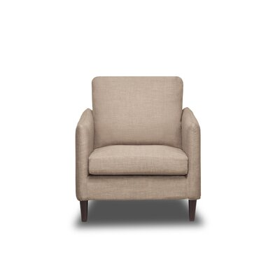 Crosby Armchair Color: BuckWheat