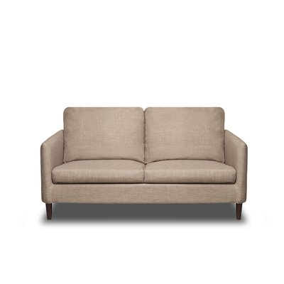 Crosby Loveseat Upholstery: Buckwheat