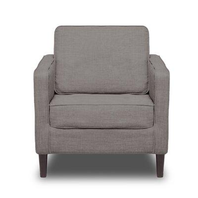Hamilton Arm Chair Color: Flannel Grey