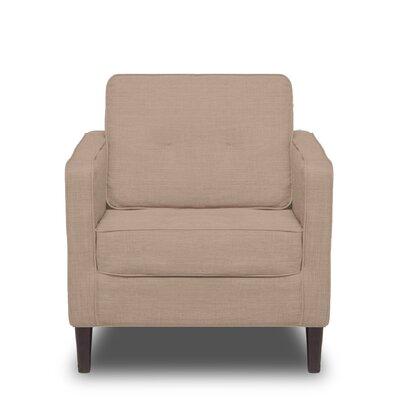 Franklin Arm Chair Color: Buckwheat