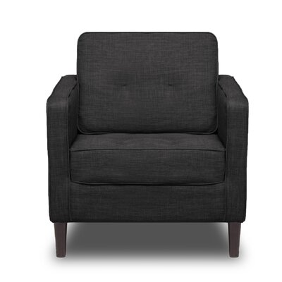 Franklin Arm Chair Color: Charcoal