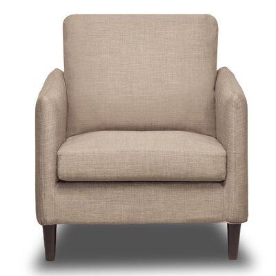Crosby Arm Chair Color: BuckWheat