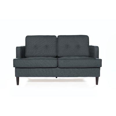 Durham Loveseat Upholstery: Graphite