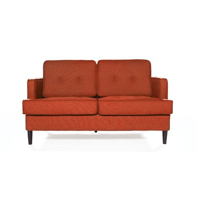 Durham Loveseat Upholstery: Spice