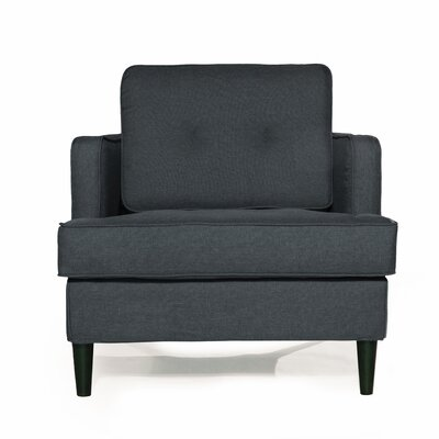 Durham Arm Chair Upholstery: Graphite
