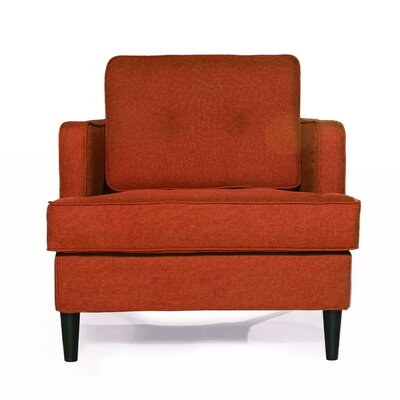 Durham Arm Chair Upholstery: Spice