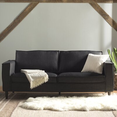 Parlour Sofa Upholstery: Charcoal
