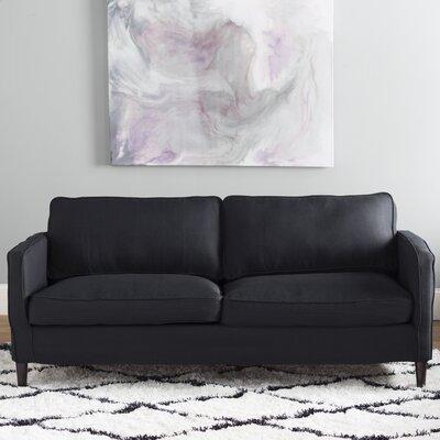 Hamilton Sofa Upholstery: Black
