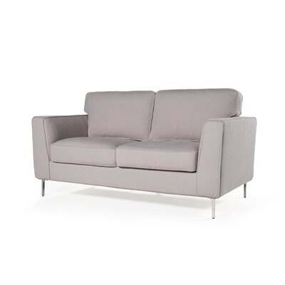 Blake Loveseat Upholstery: Cotton Flax