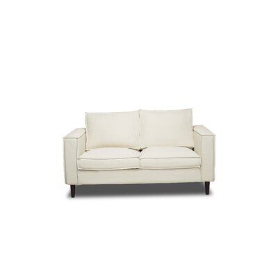 Parlour Loveseat Color: Glacier