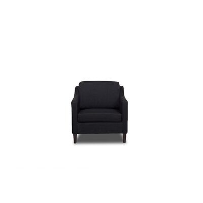 Decker Armchair Upholstery: Black