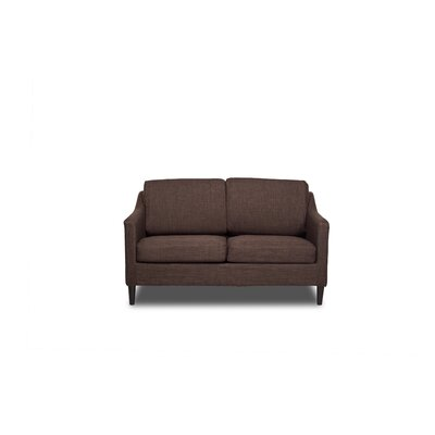 Decker Loveseat Color: Coffee
